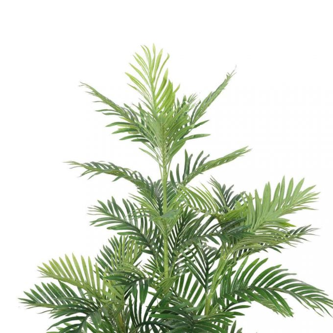 Close up of fake palm leaves 180cm artifiical fake fan palm