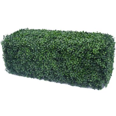 portable boxwood hedge 100cm x 25cm