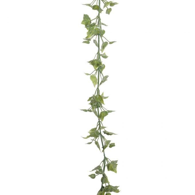 hanging fake English ivy garland