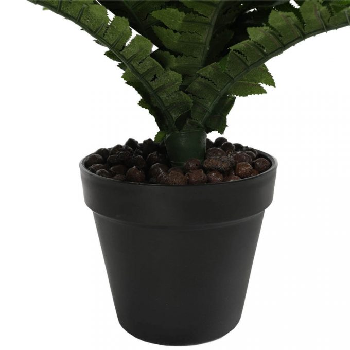 potted fake boston fern