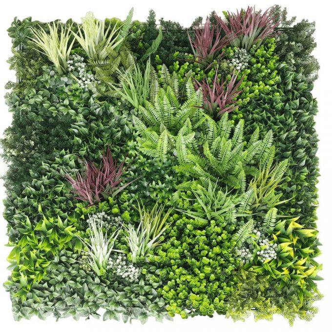 artificial urban greenery green vista panel