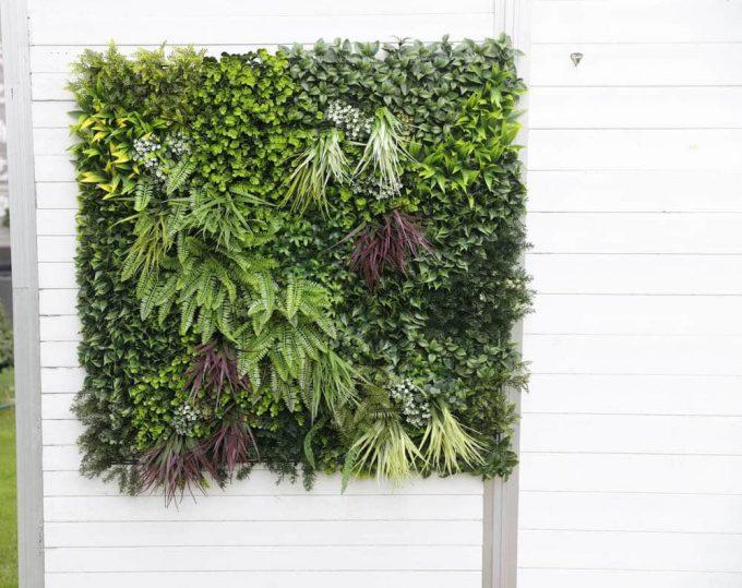 Urban Greenery Green Wall Panel on Shed