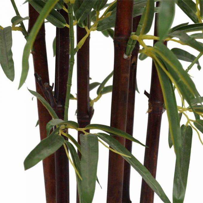 dark trunk artificial bamboo tree