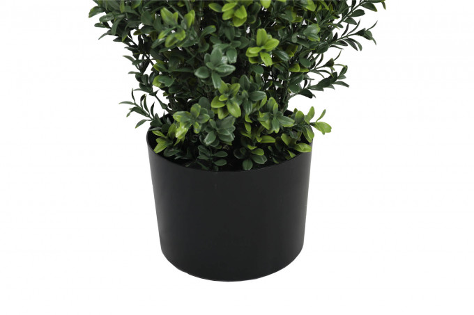 artificial topiary tree in pot