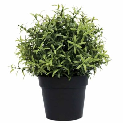 potted artificial plant herb
