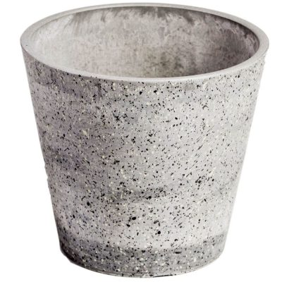 plastic stone planter pot wholesale direct
