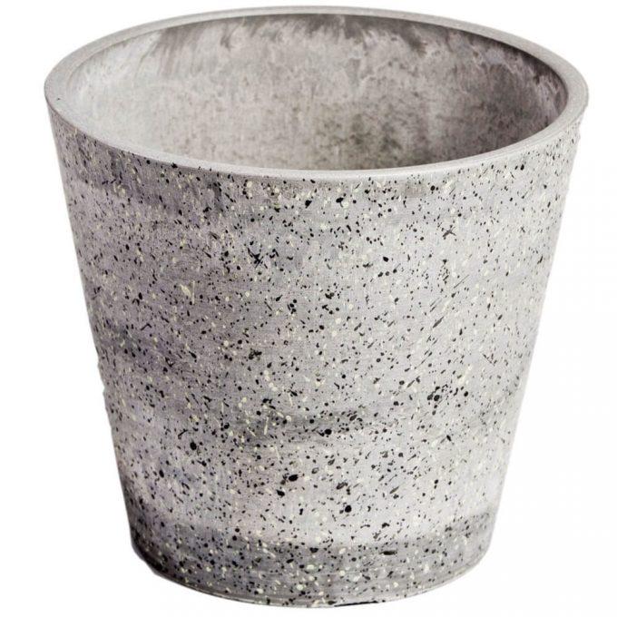 plastic stone planter pot wholesale direct