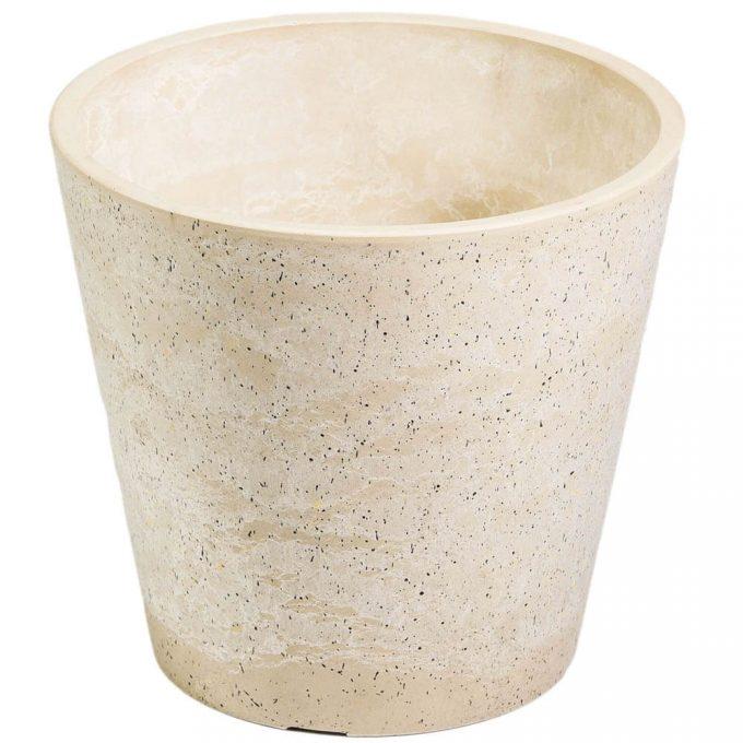 imitation stone planter pot