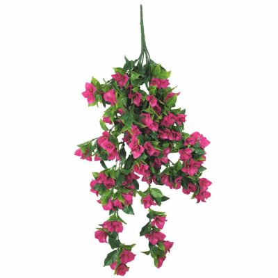 artificial hanging bougainvillea plant