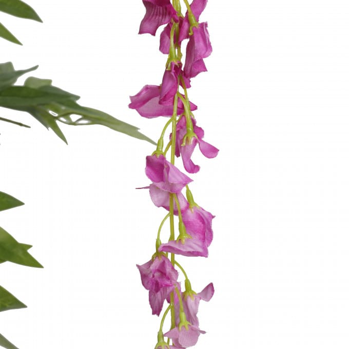 artificial wisteria flowers pink