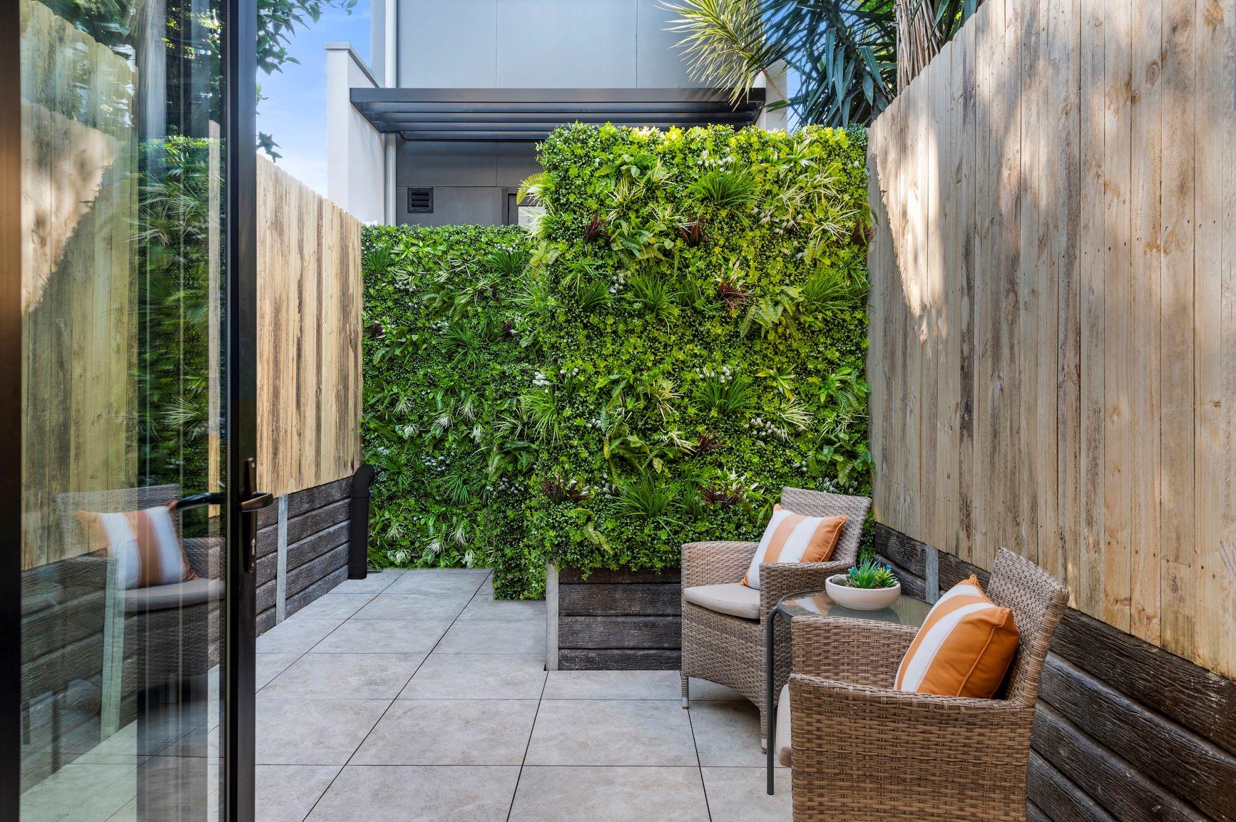 outdoor artificial green wall panels