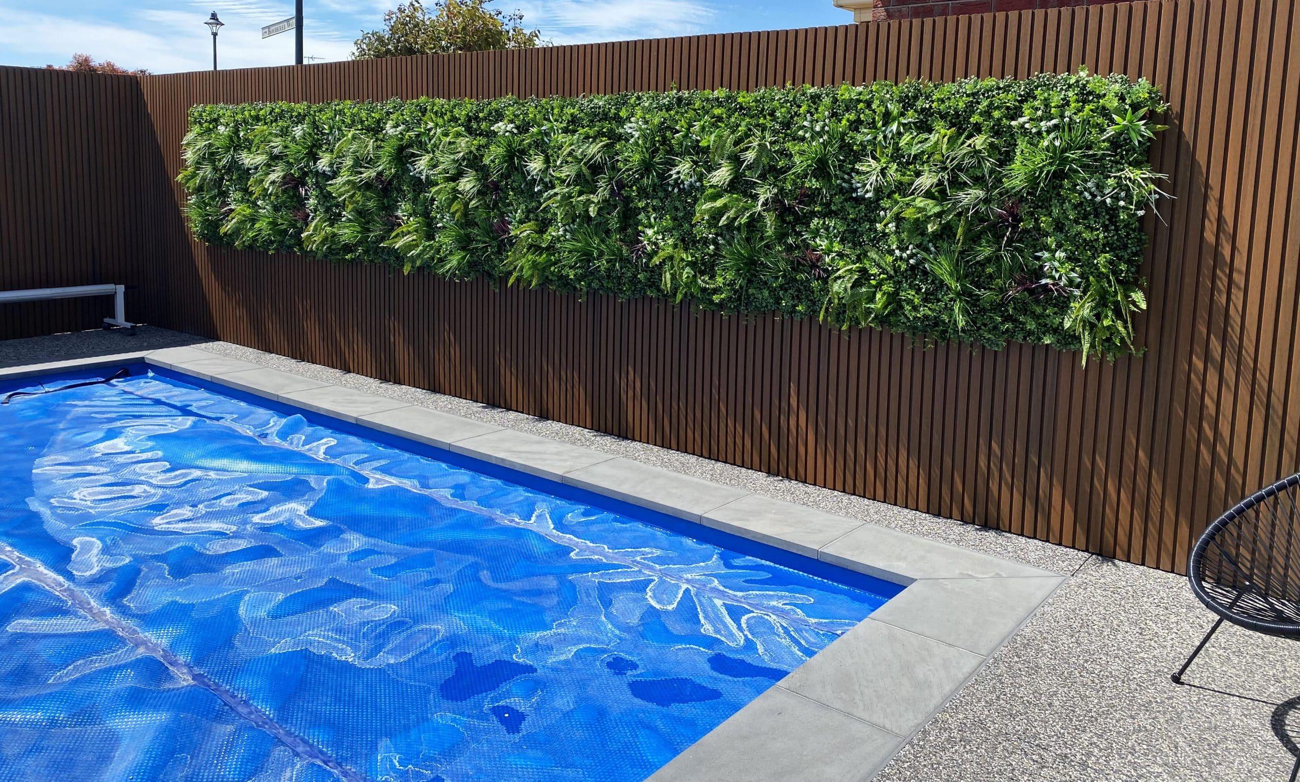 Vista Green Recycled Vertical Garden : Green Wall UV Resistant 100cm x 100cm1