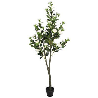 artificial potted camellia tree