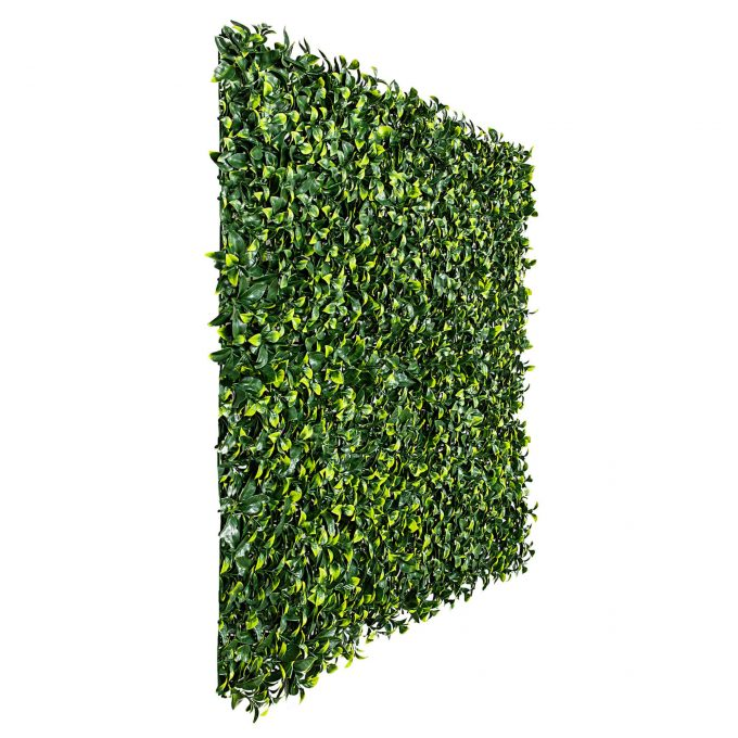 artificial fake hedge panel jasmine
