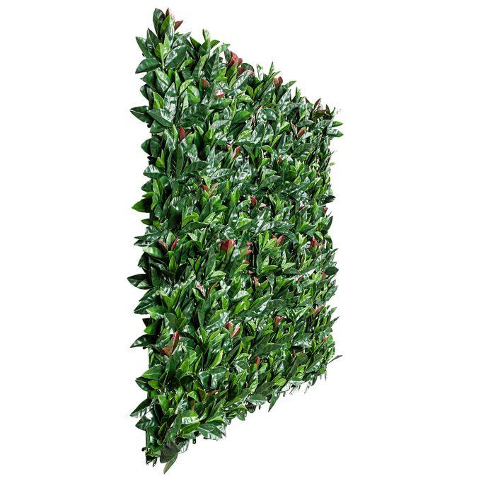 Artificial hedge panel - photinia