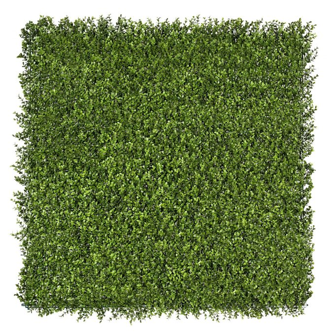 artificial buxus hedge panel