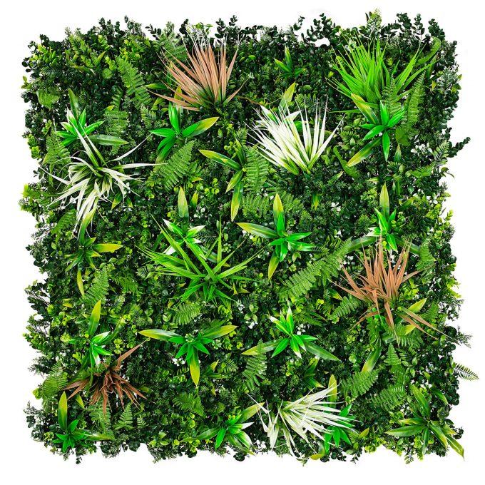 Premium artificial wall garden wild tropics