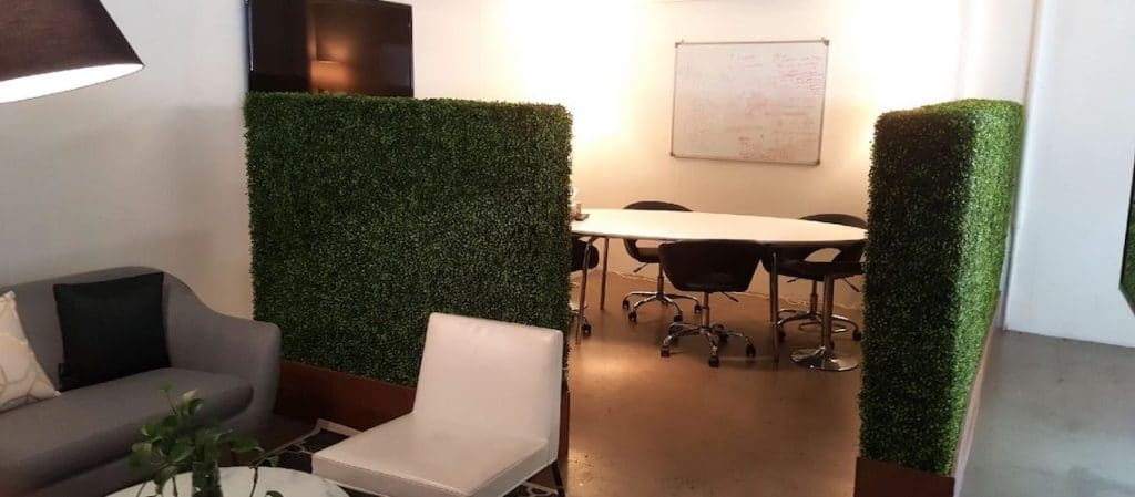 artificial plants make an office space come to life!