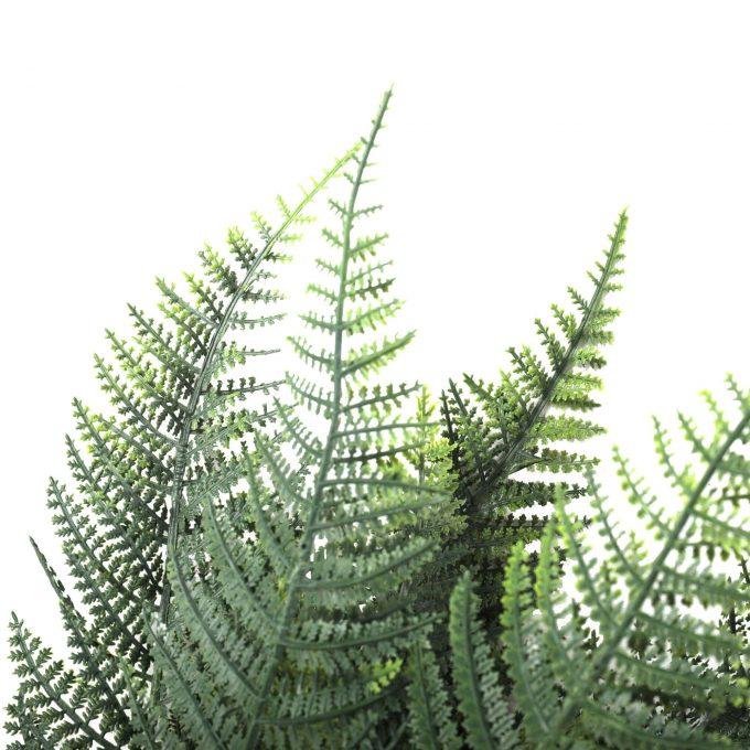 artificial fern stem leaves