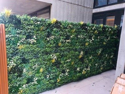 Eco friendly artificial green walls are a great decorative option copy 2