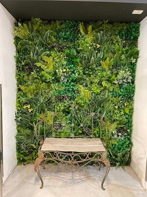 Gorgeous, eco-friendly, and customisable - we love artificial vertical gardens that do it all