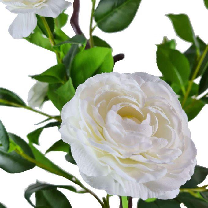 artificial white camellia tree flower
