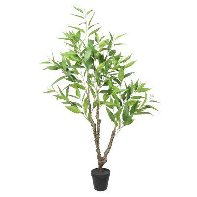 Potted Artificial Eucalyptus Tree (White Box Eucalyptus Albens)
