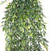 Dense Artificial Hanging Ruscus Leaf Plant
