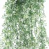 Artificial Hanging Plant Jade Leaves