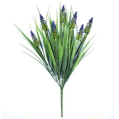 Dense English Lavender Fake Plant Stem