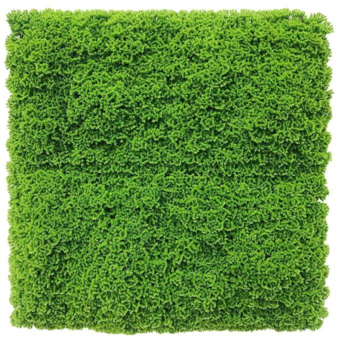 artificial moss panel bright green fake moss