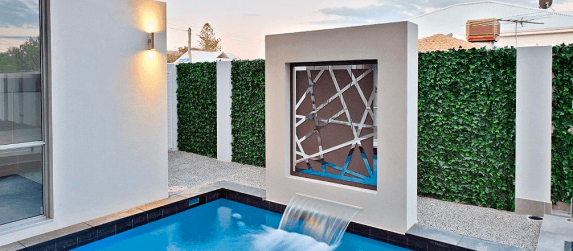 Artificial Vertical Gardens VS Living Vertical Garden landscape case study
