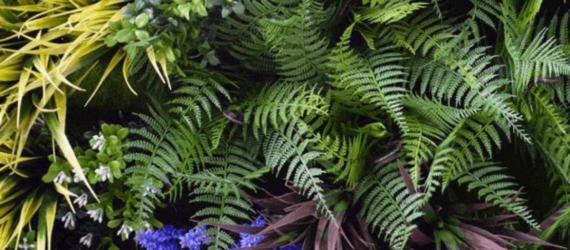 Choosing the right artificial vertical wall garden